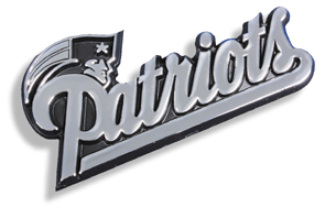 Patriots Auto Emblem