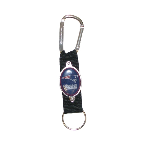 Patriots Carabiner Keychain