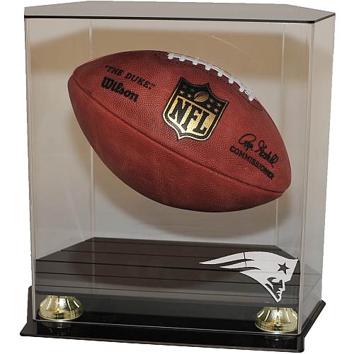 Floating Football Display Case