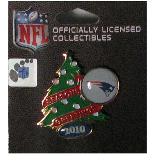 Patriots Christmas Tree Pin