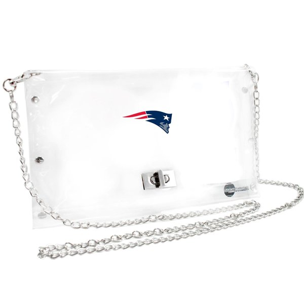 Game Day Clear Envelope Purse 10x1x7