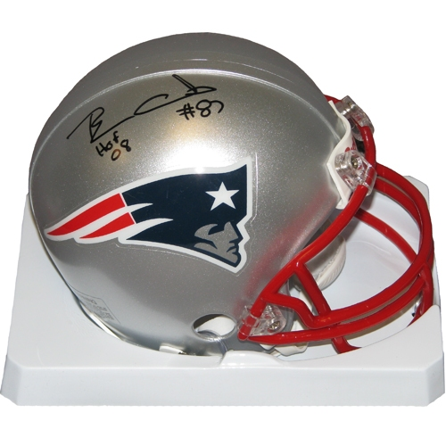 Ben Coates Autographed Mini Helmet