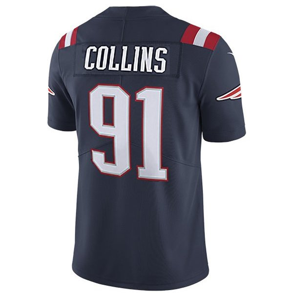 Nike Jamie Collins #91 Color Rush Limited Jersey-Navy