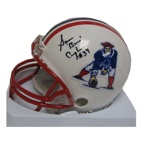 Cunningham Autographed Throwback Mini Helmet