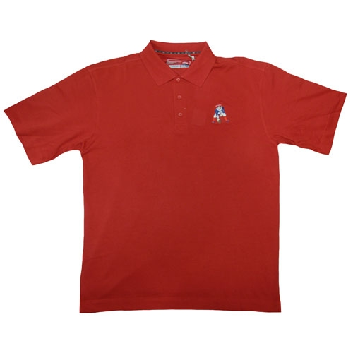 Throwback DryTech Polo-Cardinal