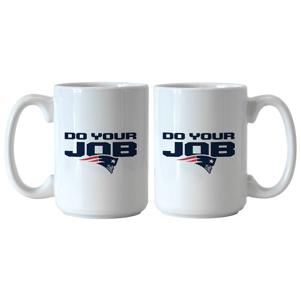 Do Your Job 15oz Mug-White