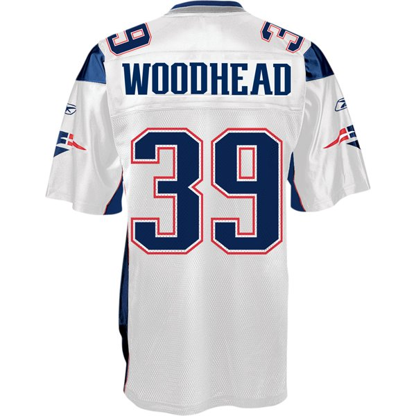 Danny Woodhead Authentic Jersey-White