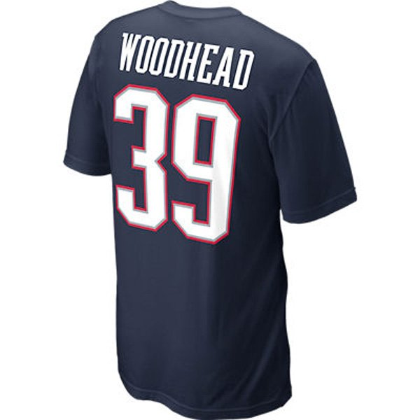 Nike Danny Woodhead Name & Number Tee