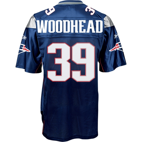 Danny Woodhead Replica Jersey-Navy