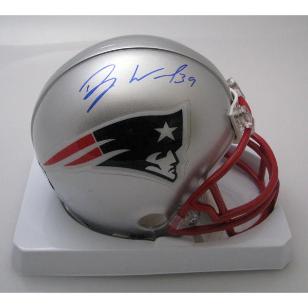 Danny Woodhead Autographed Mini Helmet