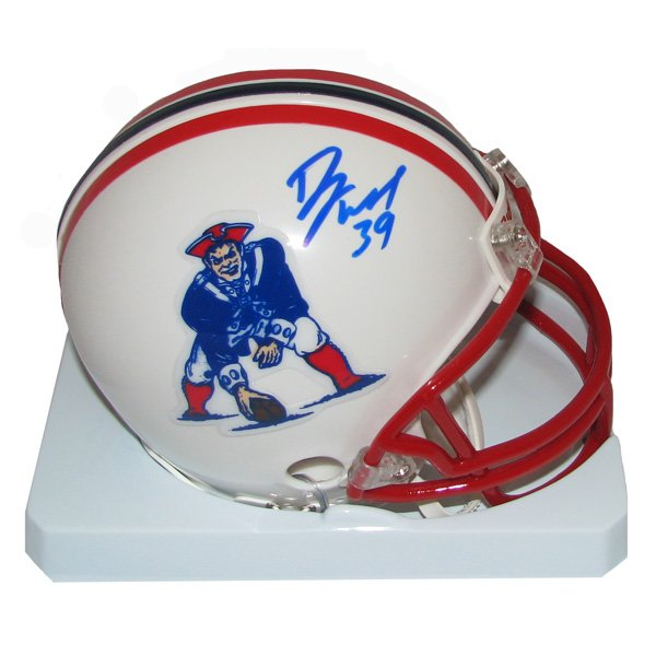 Danny Woodhead Signed Throwback Mini Helmet 