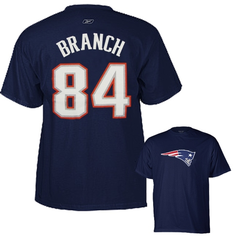 Deion Branch Name/Number Tee