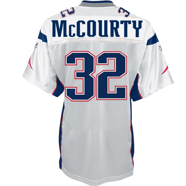 Devin McCourty Equipment Replica Jersey-White