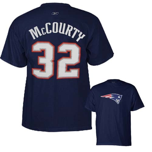 2011 McCourty Name and Number Tee
