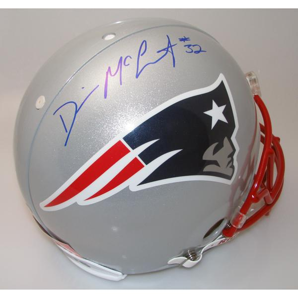 Devin McCourty Autographed Authentic Helmet