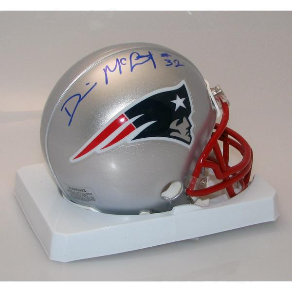 Devin McCourty Autographed Mini Helmet