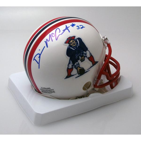 Devin McCourty Autographed Throwback Mini Helmet
