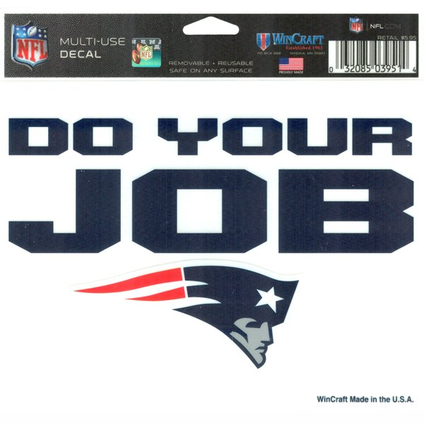 Do Your Job 5x6 Ultra Decal