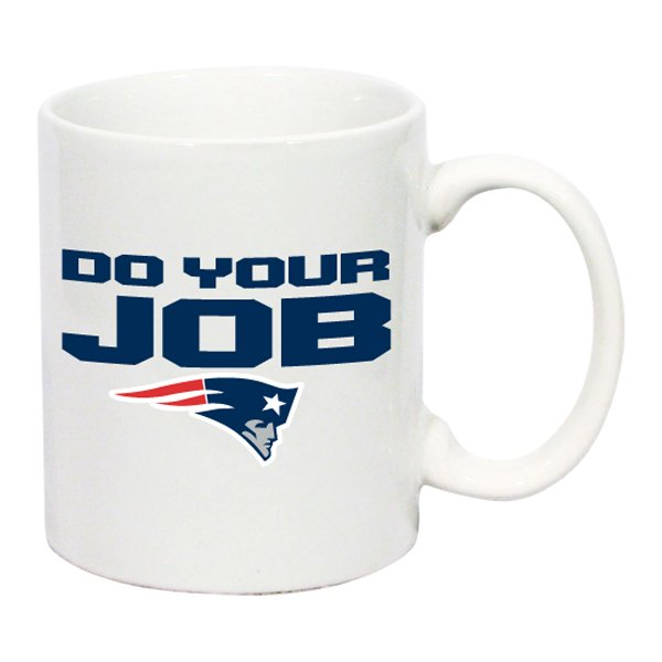 Do Your Job C-Handle Mug-White