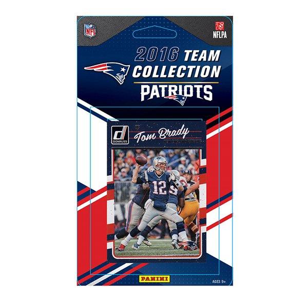 Patriots 2016 Team Card Set