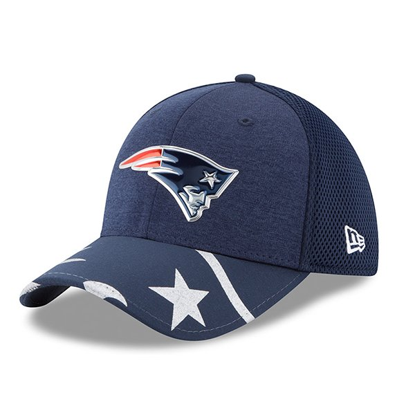 New Era 2017 Draft 39Thirty Flex Cap-Navy