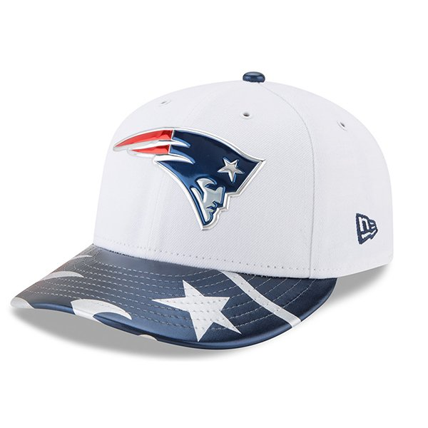 New Era 2017 Draft 59Fifty Fitted CapWhiteNavy