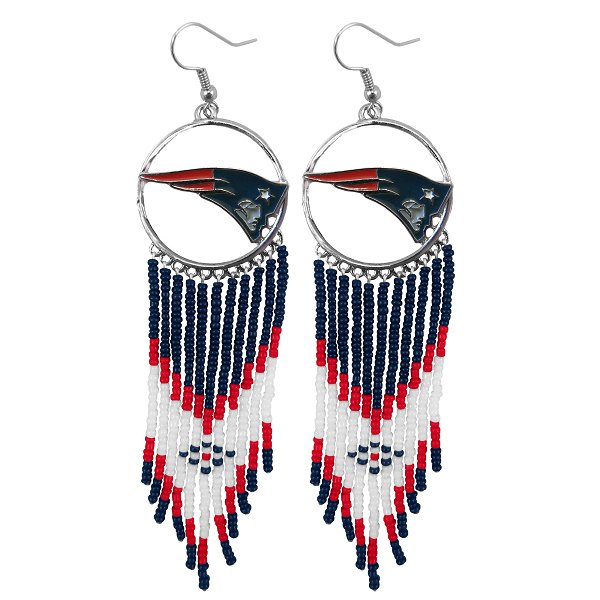 Patriots Dream Catcher Earrings