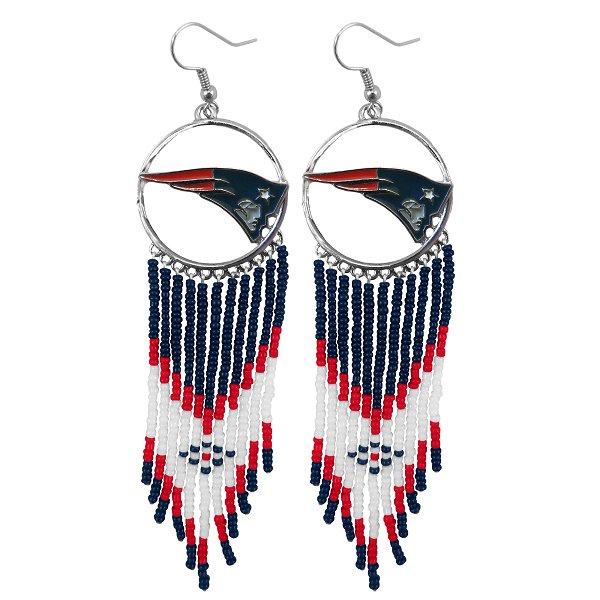 Patriots Dream Catcher Earrings
