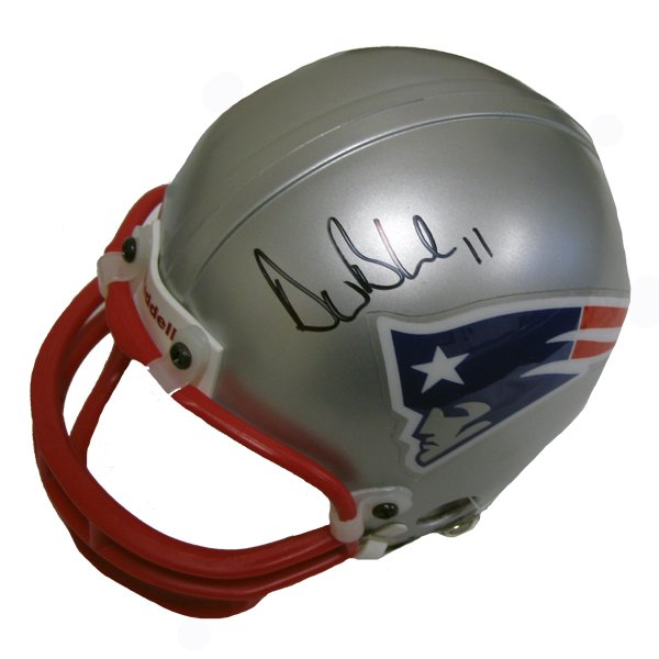 Drew Bledsoe Signed Mini Replica Helmet
