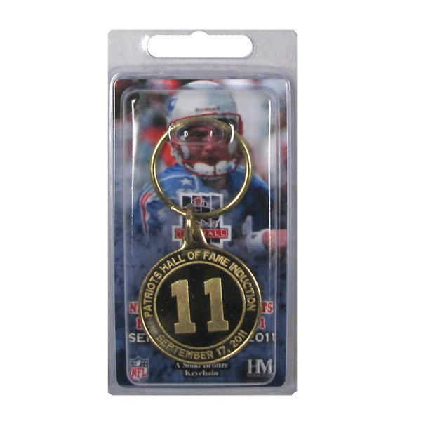 Drew Bledsoe Hall Bronze Keychain
