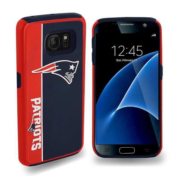 Patriots Dual Hybrid Cover-Galaxy 7