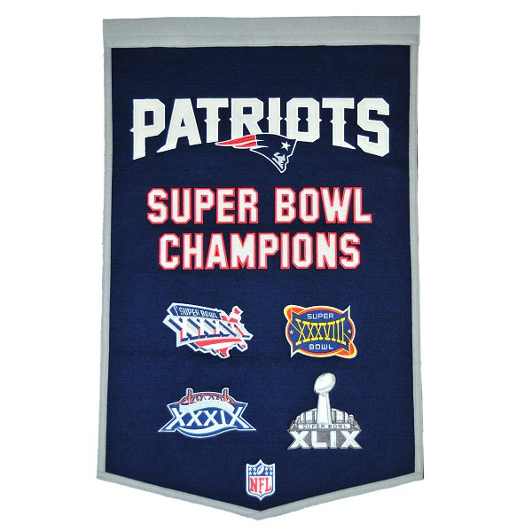 4 Time Super Bowl Champions Dynasty Banner