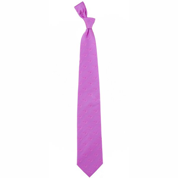 EW Patriots Silk Woven Tie-Pink