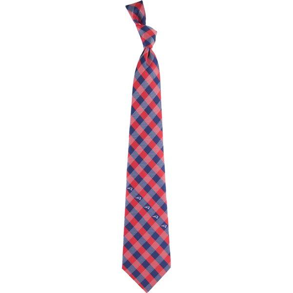 Patriots Check Woven Tie