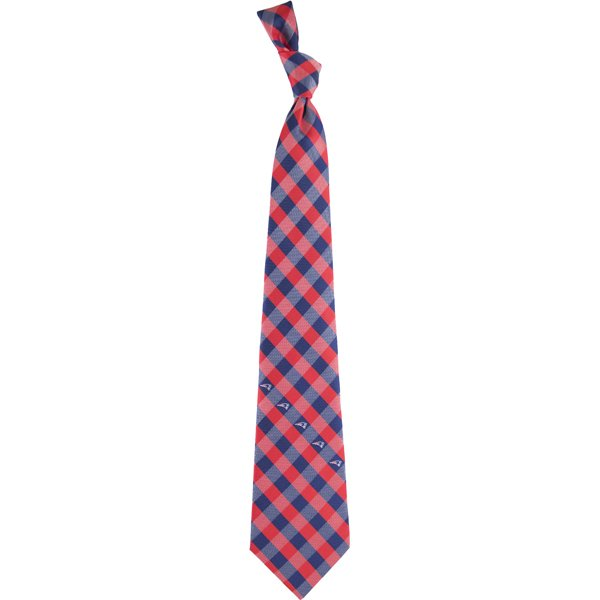 Patriots Check Woven Tie