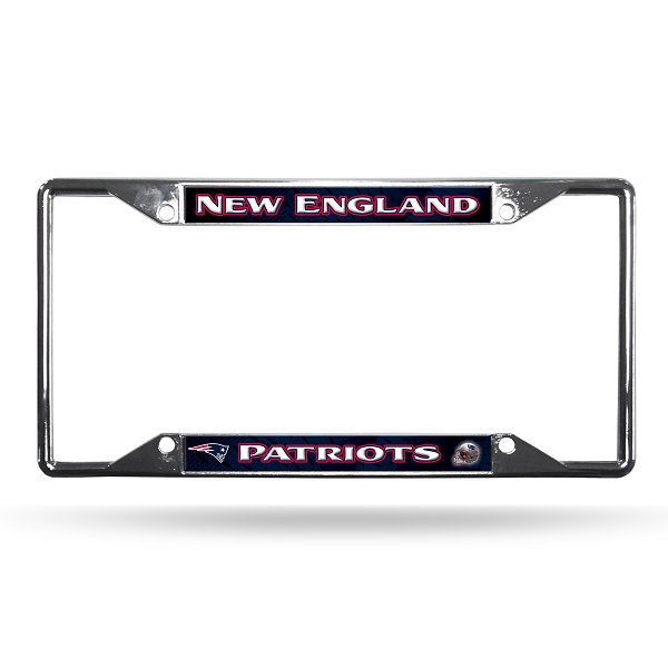 Patriots EZ View Chrome Plate Frame