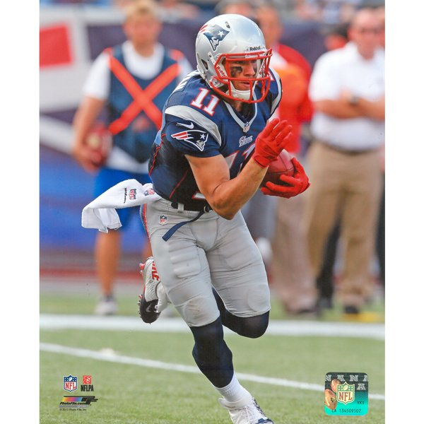 Julian Edelman 8x10 Carded Photo