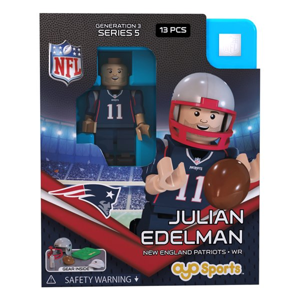 Patriots Julian Edelman Oyo Figure