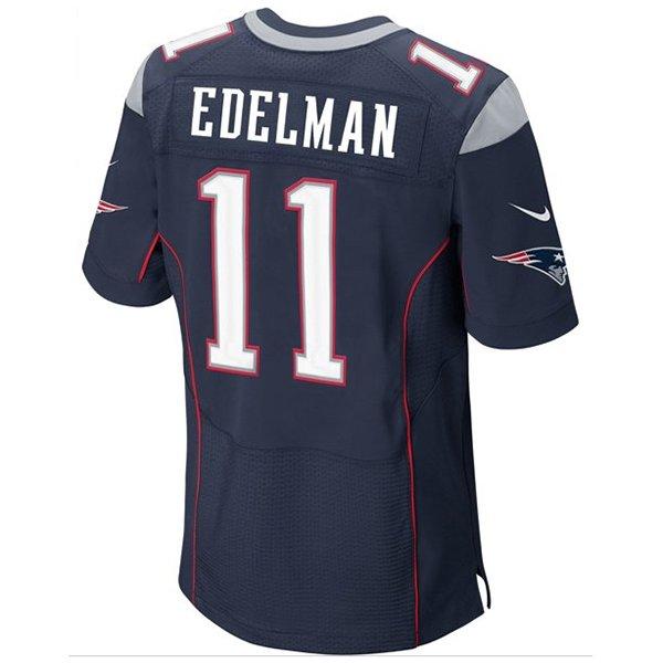 Nike Elite Julian Edelman Jersey-Navy