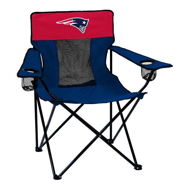 Patriots Elite Foldup Chair-Navy