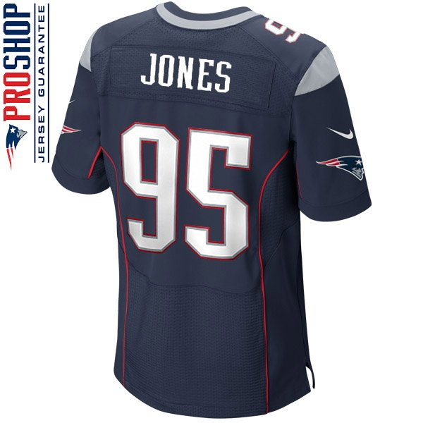 Nike Elite Chandler Jones #95 Jersey-Navy