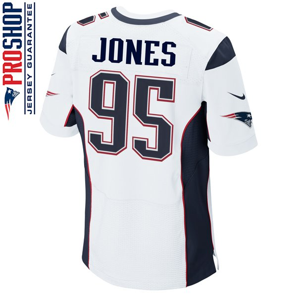 Nike Elite Chandler Jones #95 Jersey-White