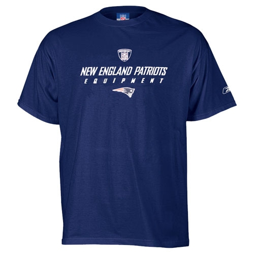 Patriots Equipment Tee-Navy