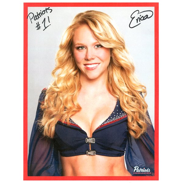Erica Autographed 2013 Head Shot Photo