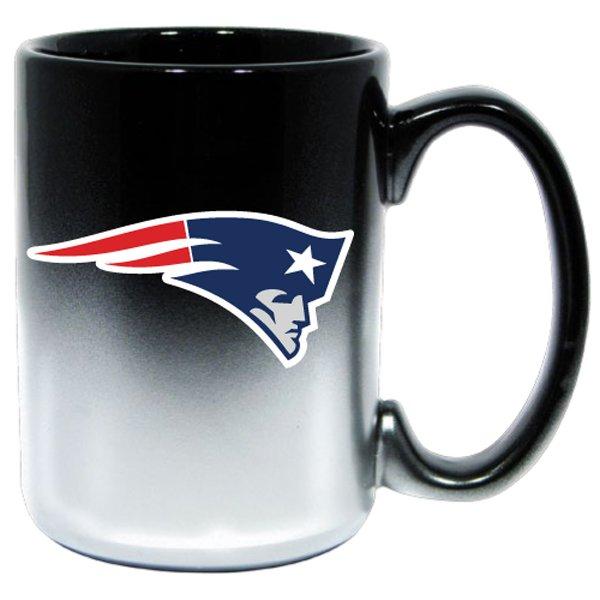 Patriots 15 oz Black Chrome Mug