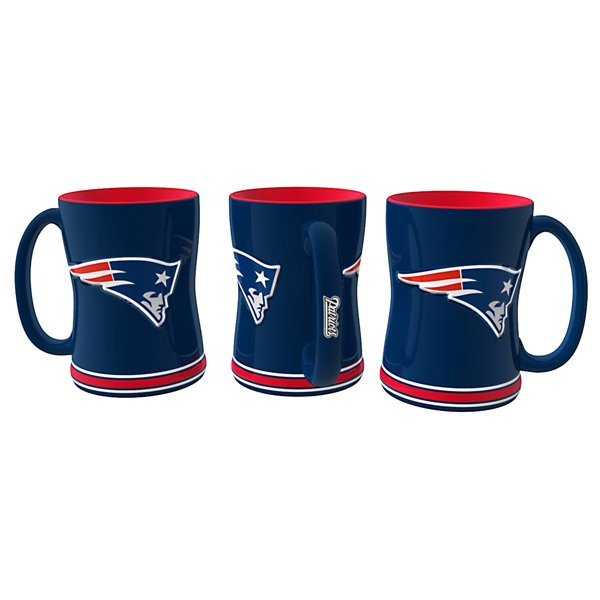 Patriots 15oz Sculpted Relief Mug