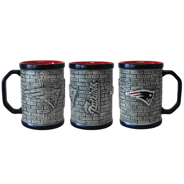 Patriots 15oz Sculpted Stonewall Mug