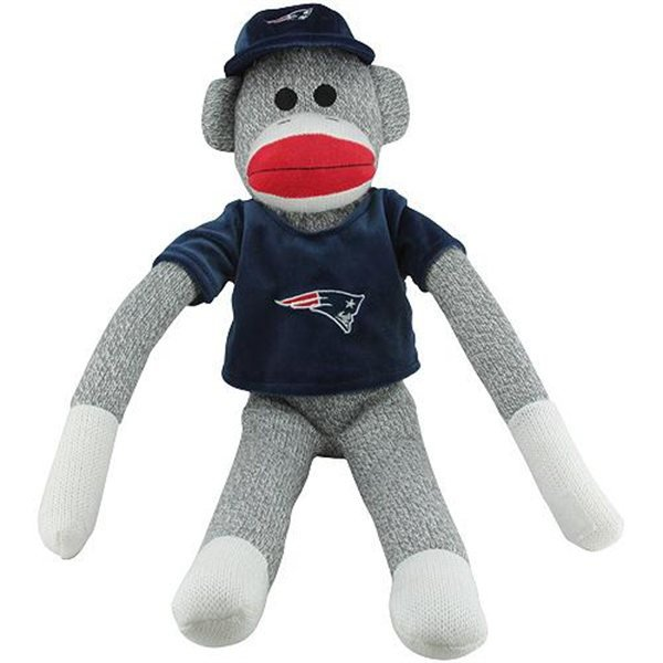 Patriots 13 Inch Clinger Monkey