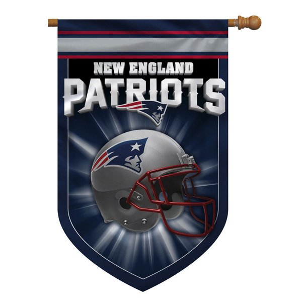 Patriots 28x40 Banner House Flag