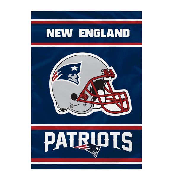 Patriots 28x40 Two Sided House Flag